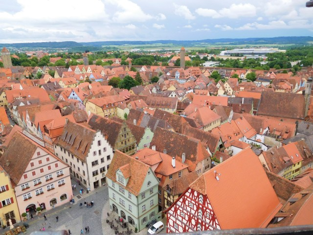 View from the Rathaus tower